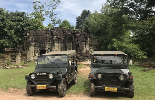 Grand Circuit & Banteay Srei Jeep Tour