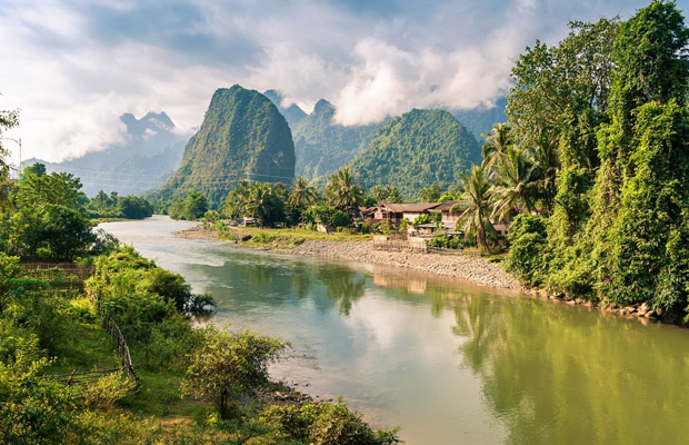 Laos, From North to South