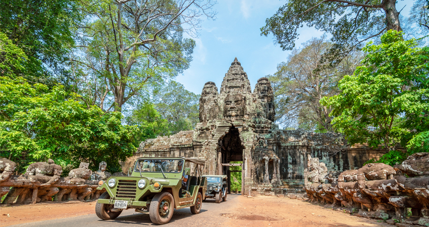Victory Gate of Angkor Thom